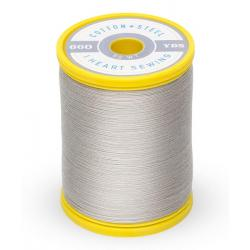 753-1328 Nickel Gray 50 Wt. Cotton Thread Spool