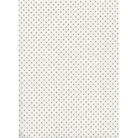 A4022-002 Cotton + Steel Basics - Add It Up - Bone Fabric