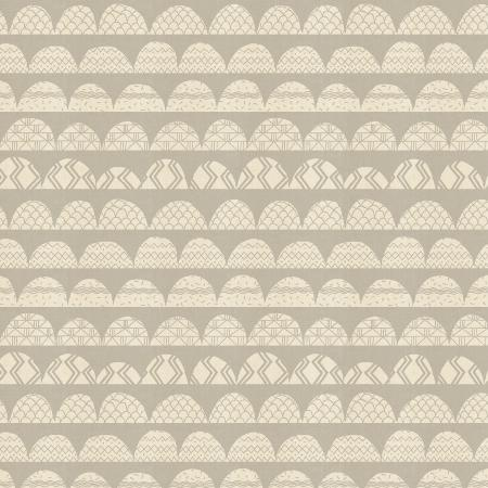 AM101-PE4U All Through the Land - Hills - Pebble Unbleached Fabric