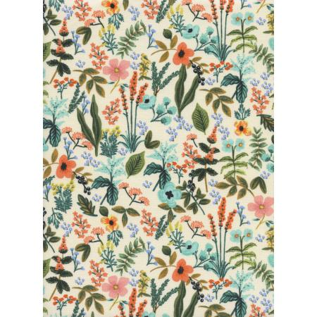 AB8044-001 Amalfi - Herb Garden - Natural Unbleached Cotton Fabric