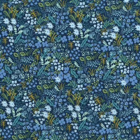 AB8059-002 English Garden - Meadow - Blue Fabric