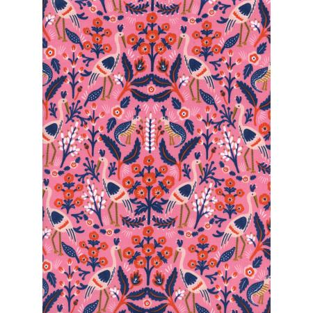 AB8001-002 Les Fleurs - Tapestry - Rose Fabric