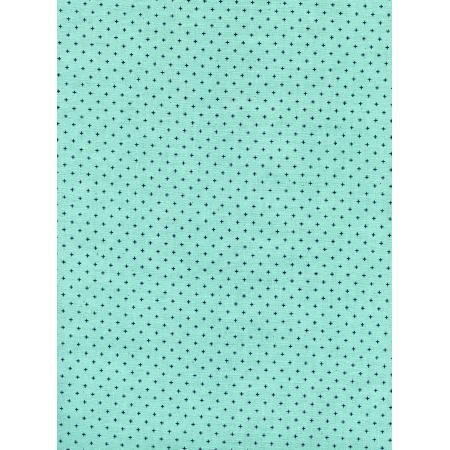 C5093-005 Cotton + Steel Basics - Add It Up - Sea Glass Unbleached Cotton Fabric