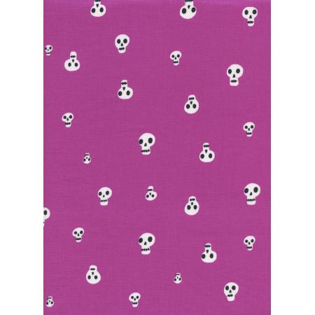 C5087 002 Boo Charms Berry Fabric Cotton Steel Fabrics
