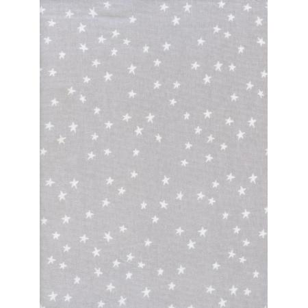 C5153-027 Hello - Starry - Grey Knit Fabric