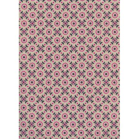 K3021-002 Lucky Strikes - Coffee Shop - Orchid Fabric