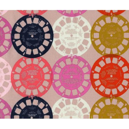 M0012-002 Playful - Viewfinders - Pink Fabric