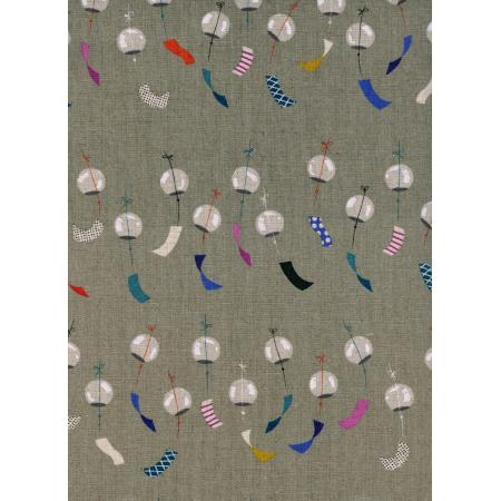 R1926-012 Zephyr - Chimes - Linen Canvas Fabric