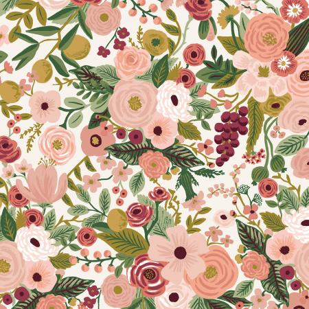RP100-RO6 Garden Party - Rose Fabric 1