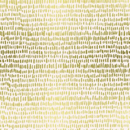 RP109-CR2LM Wildwood - Hatchmarks - Cream Lawn Metallic Fabric