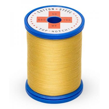 753-0502 Cornsilk 50 Wt. Cotton Thread Spool