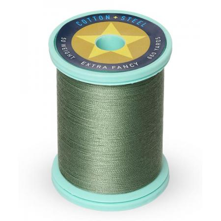 753-1287 French Green 50 Wt. Cotton Thread Spool